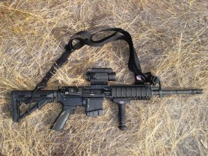 This image has an empty alt attribute; its file name is AR15_AimpointCompM4-300x225.jpg